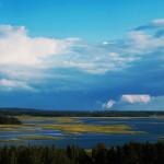 Braslauer Seen Aussichtspunkt Majak Belarus Weißrussland