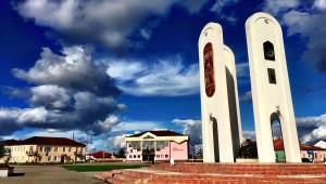 Denkmal der Religionen Iwje (Iwye) Belarus Weissrussland