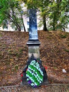 Denkmal für Opfer aus Minsker Ghetto Belarus Weisrussland