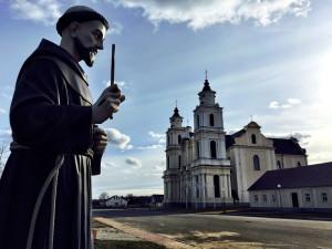 Kirche von Bernardinern in Budslau Belarus Weißrussland