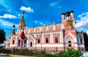 Mariä-Schutz-Kirche in Grodno Hrodna Belarus Weißrussland