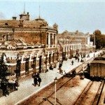 Minsker Hauptbahnhof 1873 Belarus Weißrussland