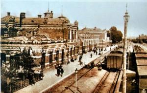 Minsker Hauptbahnhof 1873 Belarus Weissrussland