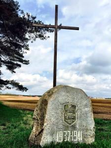 Ort der Ermordung von Opfern der politischen Repressivmaßnahmen Kurapaty Belarus Weißrussland