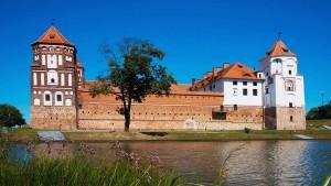 Schloss in Mir Belarus Weissrussland