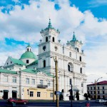 katholische Franz-Xaver Kathedrale Grodno Hrodna Belarus Weissrussland