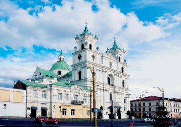 katholische Franz-Xaver Kathedrale Grodno Hrodna Belarus Weißrussland