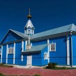 orthodoxe Holzkirche Belarus Weißrussland