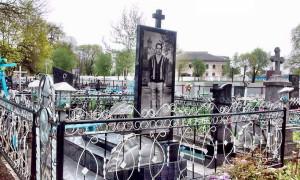 orthodoxes Grab Friedhof in Turow Turau Belarus Weißrussland