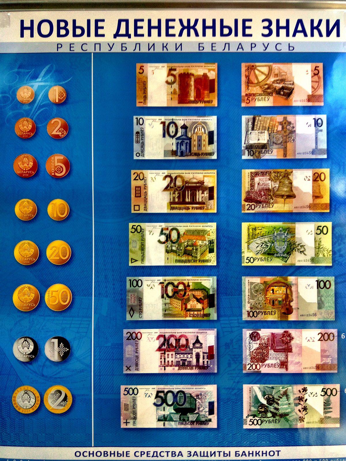 Neue Währung in Belarus Weißrussland