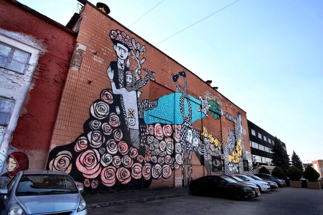 Minsker Graffiti   Foto: Anna Kowalewa