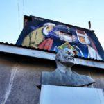 Minsk Lenin und die Moderne Belarus Weissrussland