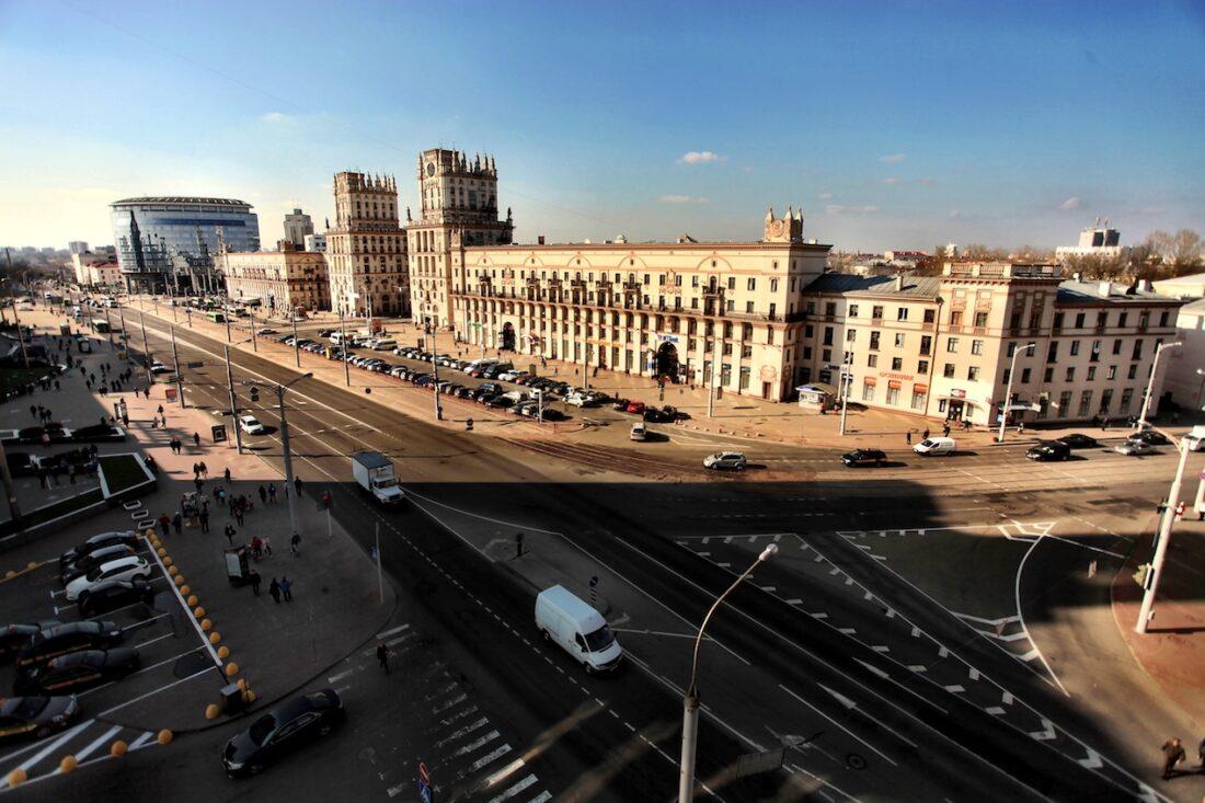 Minsker Stadttor    Bild: Anna Kovaleva