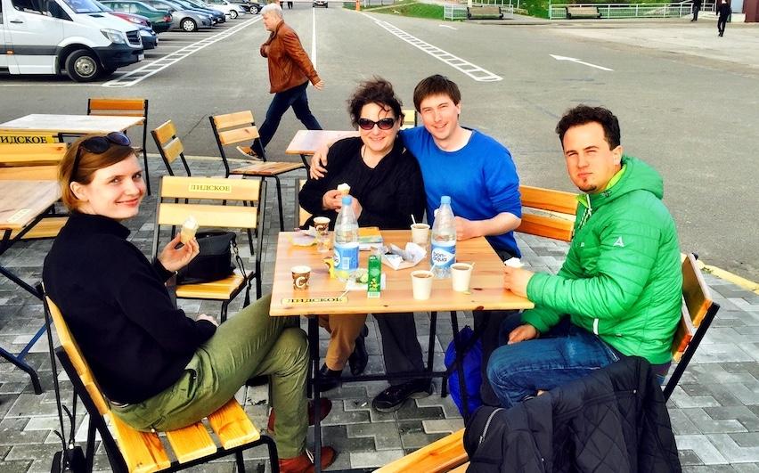 Zwei Schweizer Abenteurer in Belarus Weißrussland