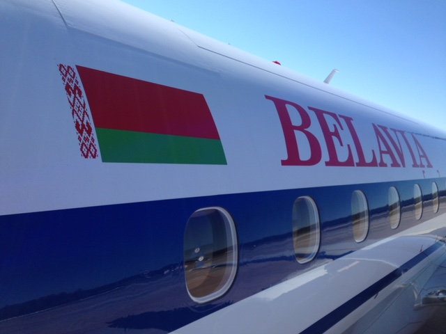 Belavia Airline Belarus Weissrussland