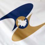 Flagge Eurasische Wirtschaftsunion