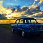 Auto Zaporozhets im Sonnenschein Belarus Weißrussland