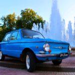 Zaporozhets Minsk Springbrunnen Belarus Weißrussland