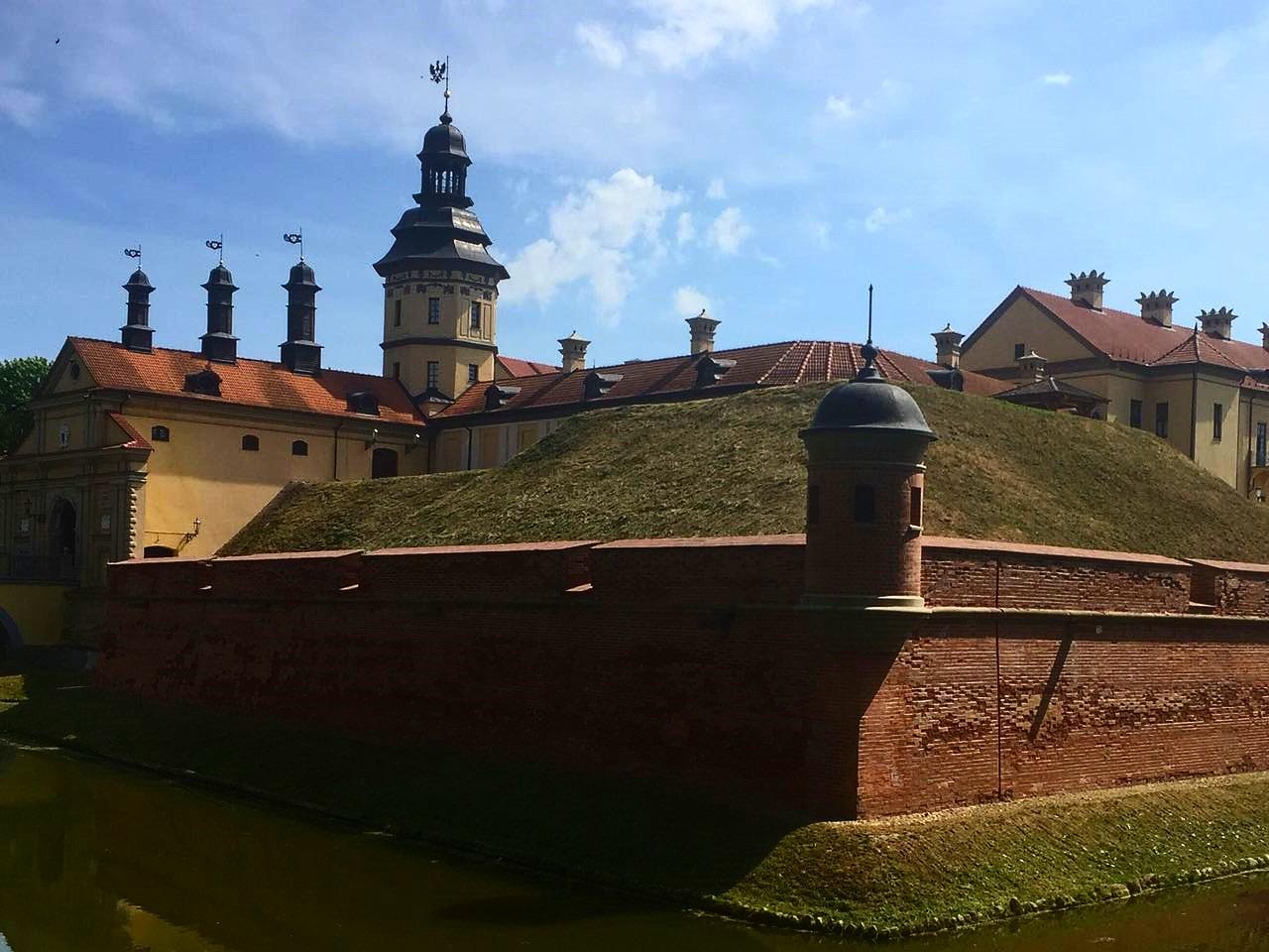 Palast der Adelsfamilie Radziwil Njaswisch Neswizh Belarus Weißrussland