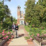 Touristen in Belarus Weißrussland