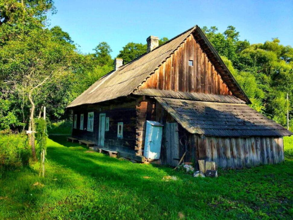 Das Ökohaus in der Belowescher Heide   Bild: Alexander Pekatsch
