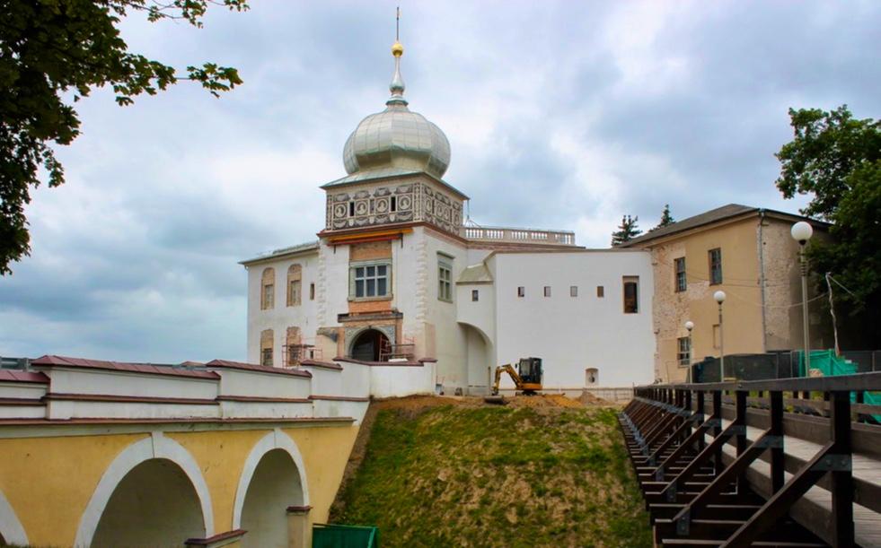 Das alte Schloss in Grodno   Bild: Svetlana Abehtikova