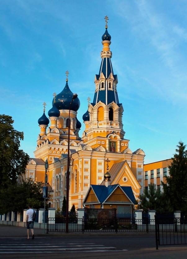 Kathedrale des heiligen Nikolaus in Brest   Bild: Svetlana Abehtikova