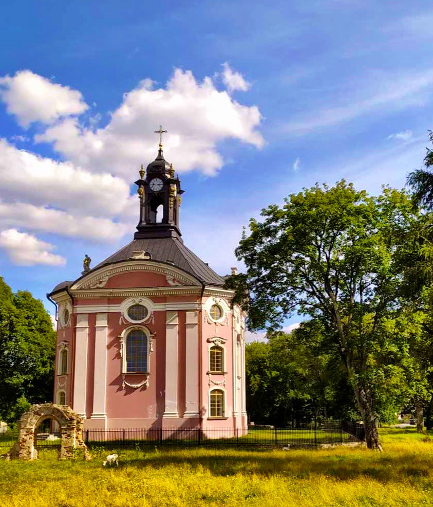 Dreifaltigkeitskirche in Woltschin neben Brest Belarus Weißrussland