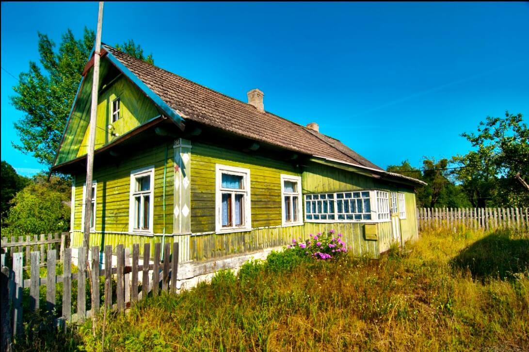Dorfhaus Belarus Weißrussland
